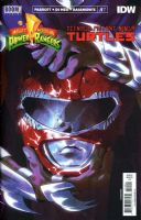 Mighty Morphin' Power Rangers/Teenage Mutant Ninja Turtles #1 (of 5) - 2ND PRINT Montes Variant Cvr